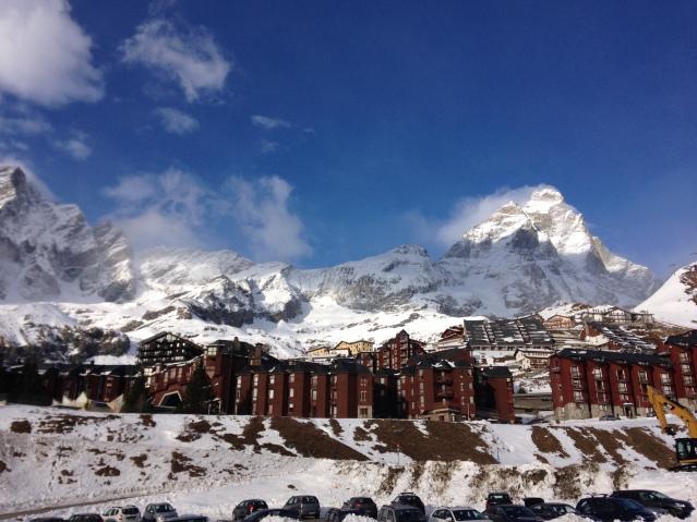 Das Matterhorn von der italienischen Seite :)