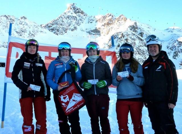 2. Platz am FIS Rennen im Pitztal