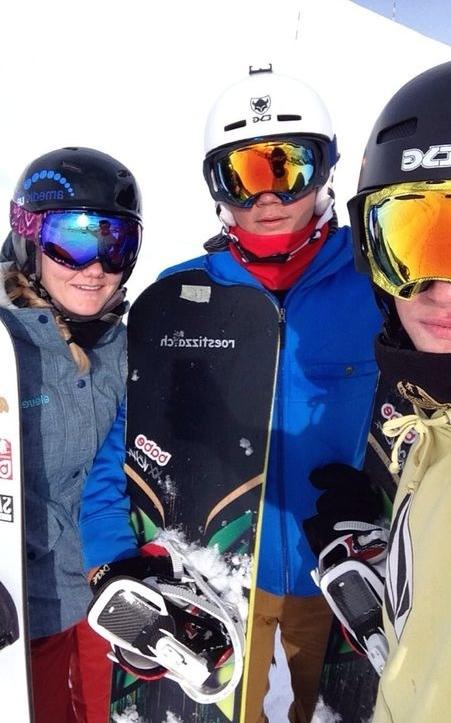 Mit Teamkollegen Pascal und Gian :)