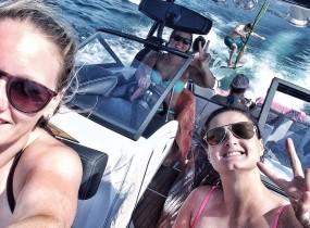 wakesurfen gruppebild